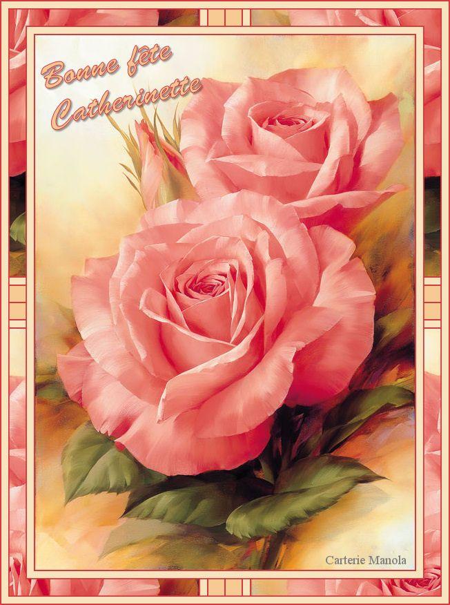 carte bonne fête de sainte catherine